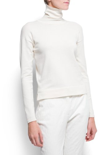Mango Women's Cotton Turtleneck Jumper