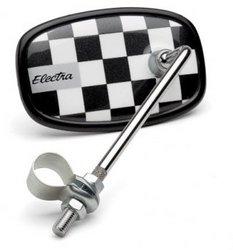 Electra Checkerboard Bicycle Mirror (Black)