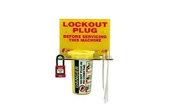 Zing 7117 RecycLockout Plug Lockout Station