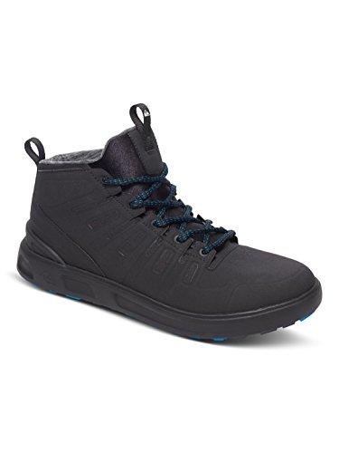Quiksilver Patrol Mid M Shoe Xckw, Color: Black/Black/White, Size: 11(44)