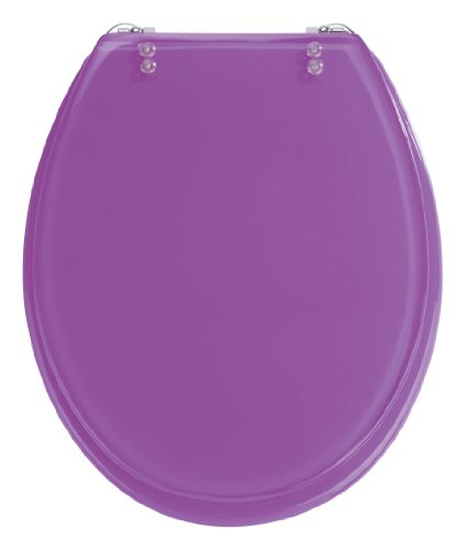 wenko-18930100-tropic-tapa-de-inodoro-color-morado