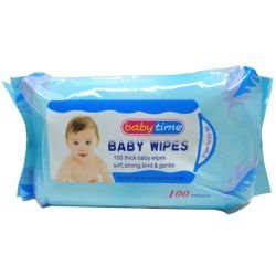 Deluxe Buy 73-NBB707 Baby Wipes 100 Count, Pink & Blue - Pack of 24 - 1