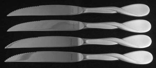Oneida Satin Aquarius (Stainless) (Set Of 4) Individual Steak Knives