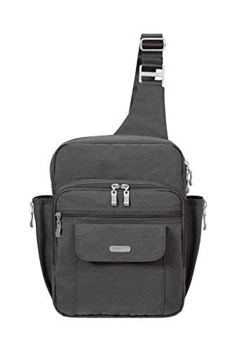 Baggallini Messenger Travel Bag, Black, One Size