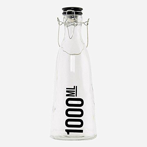 House Doctor - Wasserflasche mit Keramikdeckel