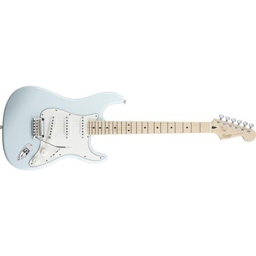 Squier by Fender Deluxe Stratocaster Electric Guitar - Daphne Blue - Maple Fingerboard (Fender Electric Guitar Deluxe compare prices)