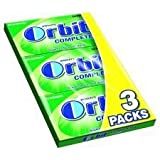 Wrigley's Orbit Complete Spearmint 3 X 14 Tablet Pack