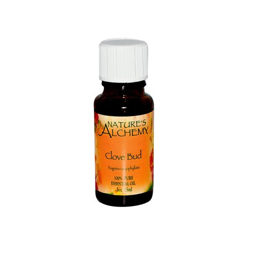 Nature's Alchemy 100% Pure Essential Oil Clove Bud - 0.5 Fl Oz