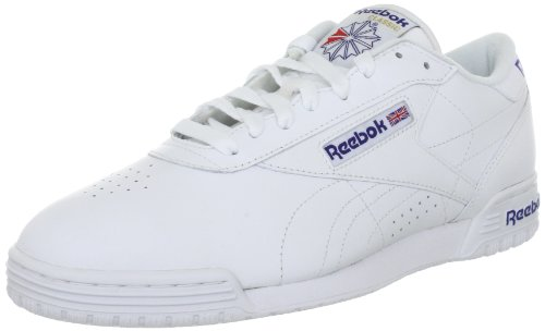 ReebokEXOFIT LO CLEAN LOGO INT - Sneaker Uomo, Bianco (Weiss (NA)), 42