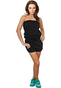 Urban Classics Ladies Hot Jumpsuit Jumpsuit schwarz XS