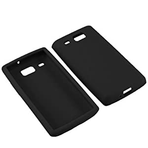 BW Soft Sleeve Gel Cover Skin Case for AT&T Samsung Focus Flash i677 -Black