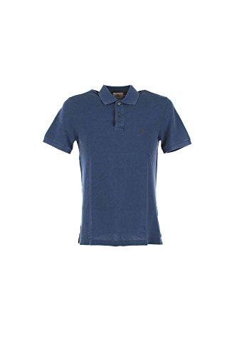 Polo Uomo Brooksfield 201A.A002 Blu Primavera/Estate Blu 54