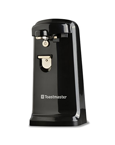 Toastmaster Extra Tall Utility Electric Can Opener Bottle & Pop Top Opener Knife Sharpener