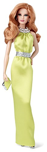 Barbie-Mueca-Red-Carpet-Look-vestido-de-color-amarillo-Mattel-BDH26