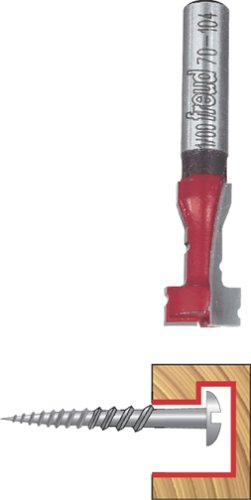 Freud 70-104 25/64-Inch Diameter Key Hole Router Bit with 1/4-Inch Shank