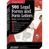 Cosmi Professional 501 Legal Forms And Form Letters
