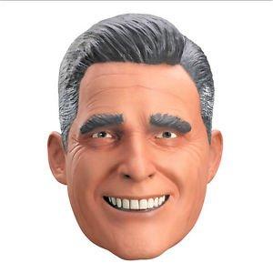 [Mitt Romney Presidential Political Latex Vinyl Full Overhead Adult Costume Mask] (Jack Torrance Costume)