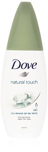 Dove - natural touch, Deodorante con Minerali del Mar Morto - 75 ml