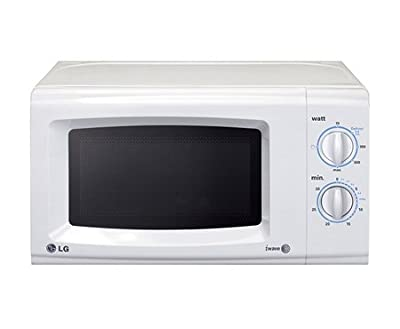 LG MS 2021CW 20-Litre 700-Watt Solo Microwave Oven (White)