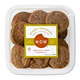 WOW Baking- Ginger Molasses Cookies, All Natural, Wheat & Gluten Free, 12 oz tub ~ WOW Baking Company