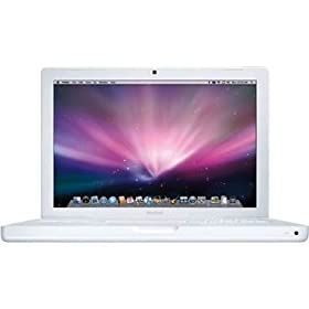 Apple MacBook MB402LL/A 13.3-inch Notebook (2.1 GHz Intel Core 2 Duo, 1 GB RAM, 120 GB Hard Drive) White