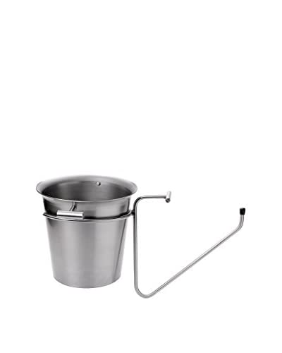Pordamsa Stainless Steel Champagne Bucket with a Table Support