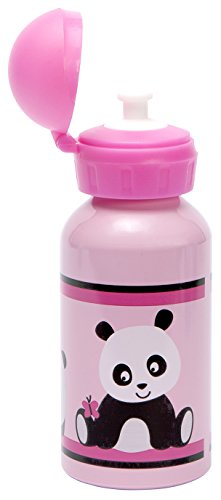 C.R. Gibson Kids Aluminum Water Bottle, Panda