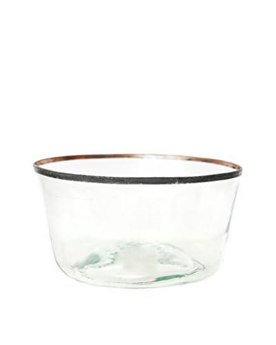 Europe2You Found Glass & Metal Bowl