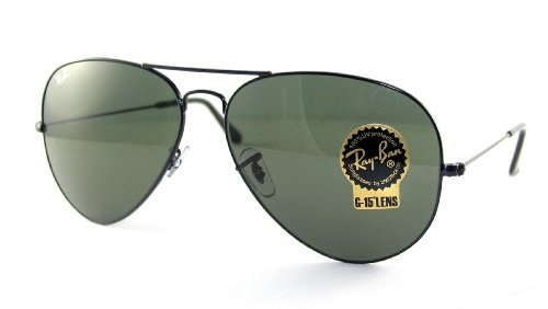 Ray Ban RB3026 Aviator II Sunglasses-L2821 Black (G-15XLT Lens)-62mm
