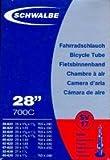 """SCHWALBE Fahrradschlauch SV17 mit Sclaverantventil ~ 27""""/28"""" ~ 28/47-622/635 mm"""