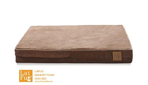 laifug 45dhi premium memory foam orthopedic extra large petdog bed