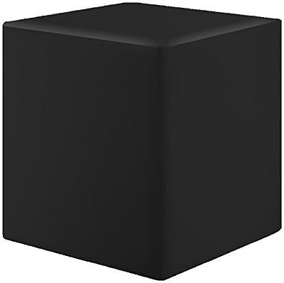 Sitzwürfel Schwarz Maße: 35 cm x 35 cm x 42 cm von Kaikoon auf Gartenmöbel von Du und Dein Garten