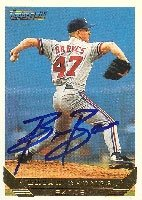 Brian Barnes Montreal Expos 1993 Topps Gold Autographed Hand Signed Trading Card. by Hall+of+Fame+Memorabilia