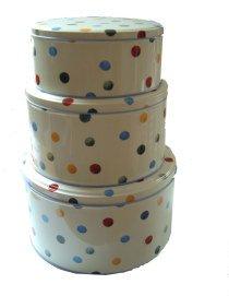 Emma Bridgewater Polka Dot Cake Tin Set