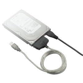 グリーンハウス IDE-USB2.0変換アダプタ Vista対応 GH-USHD-IDE