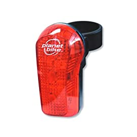 Planet Bike Blinky 7 - 7 LED Bicycle Tail Light - 3019