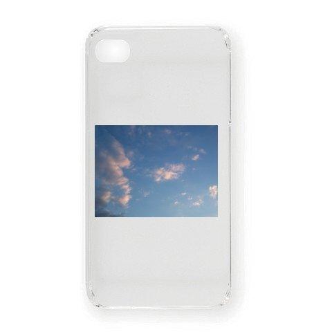 2012年7月16日に撮影した夕方の雲 iPhone4オリジナルケース(クリア)