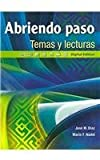 img - for Abriendo paso temas y lecturas: Digital Edition (Spanish Edition) book / textbook / text book