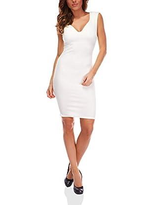 Bleu Marine Vestido (Blanco)