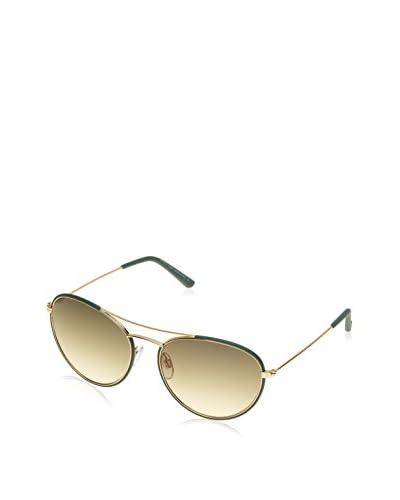 Tod's Occhiali da sole To0156 Dorato/Verde