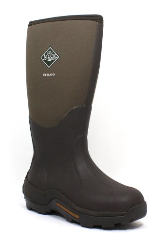 The Original Muckboots Adult Wetland Boot,Bark,11 M Us Mens/12 M Us Womens