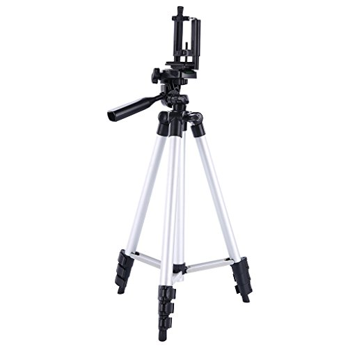 Digiant-50-Inch-Aluminum-Camera-Tripod-Universal-Tripod-Smartphone-Mount-for-Apple-Iphone-Samsung-and-Other-Brands-Smartphones