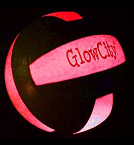 Buy Light up LED Volleyball, much brighter than glow in the dark! by GlowCity