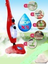 H2O MOP X5 in Rot ORIGINAL AUS TV +    Kundenbewertung und Beschreibung