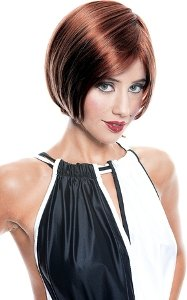 Veronica Wig (burgundy) Adult Halloween Costume Accessory (B771)