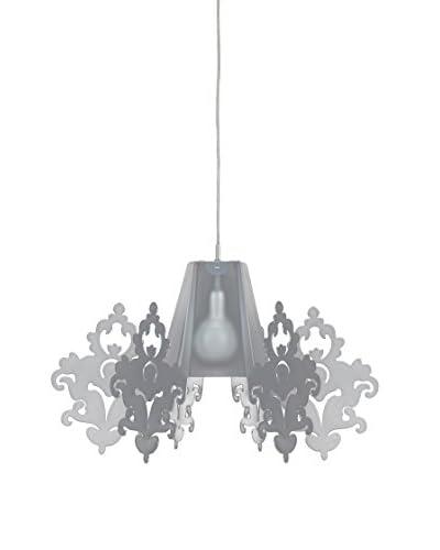 Emporium Lámpara De Suspensión Satin Blanco