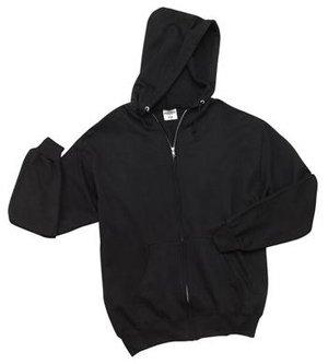 JERZEES - Full Zip Hooded Sweatshirt Black-3XL - Buy JERZEES - Full Zip Hooded Sweatshirt Black-3XL - Purchase JERZEES - Full Zip Hooded Sweatshirt Black-3XL (Jerzees, Jerzees Apparel, Jerzees Mens Apparel, Apparel, Departments, Men)