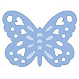 Woodware Lever Punch - Super Silhouette - Embossed Butterfly 2