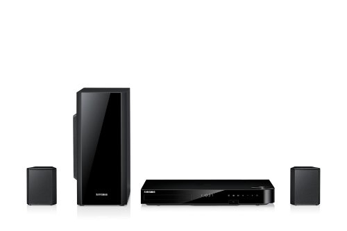 Samsung HT-F5200 2.1 3D-Blu-ray-Heimkinosystem (500 Watt, WiFi, DLNA, HDMI, USB 2.0) schwarz