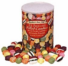 Old Fashion Hard Filled Christmas Candy